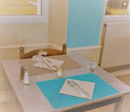 Albertville, Fransa: la table des amoureux