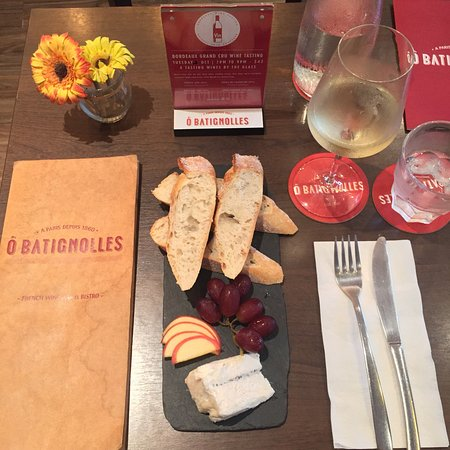 Photo of French Restaurant O Batignolles Wine Bar & French Bistrot at 2 Gemmill Lane, Singapore 069247, Singapore