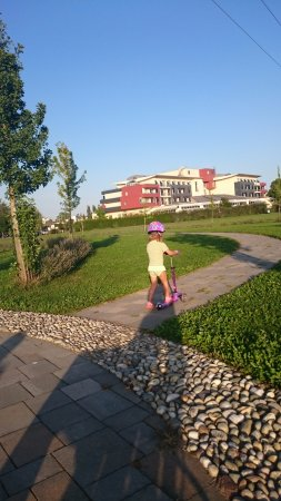 Ptuj, สโลวีเนีย: energy park next to the hotel