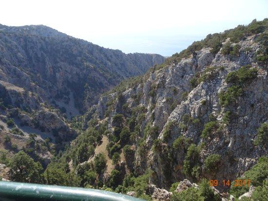 Rethymno, Grécia: View down Imbros Gorge