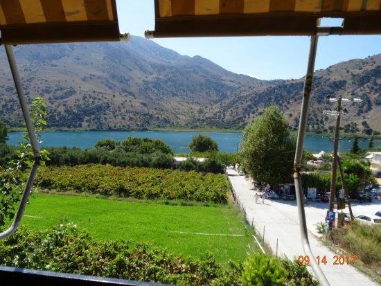Rethymno, Grécia: The picturesque Kournas Lake.