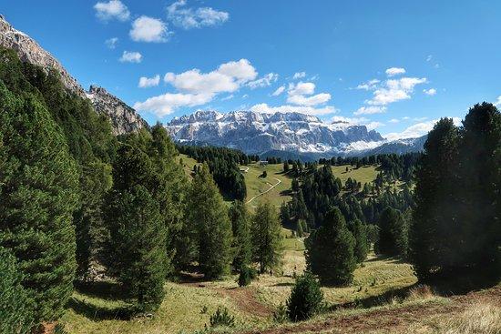Val Gardena, Italia: Красивейшее место...