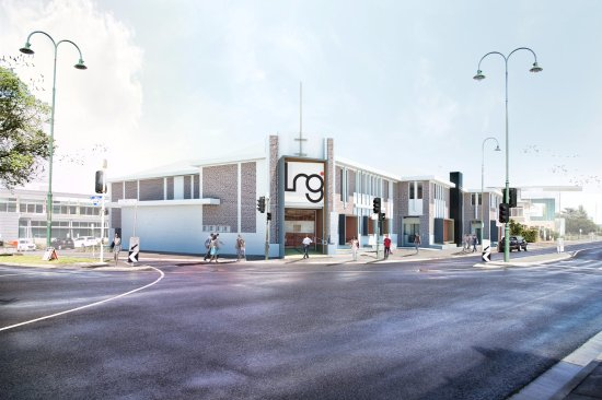 Latrobe Regional Gallery: Artists impression of the new refurbishment
