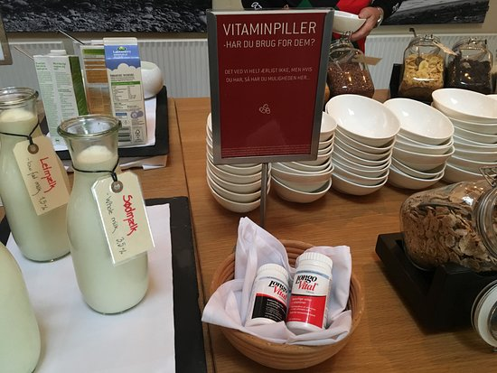 Rungsted, เดนมาร์ก: Vitaminpillen, okeeee?