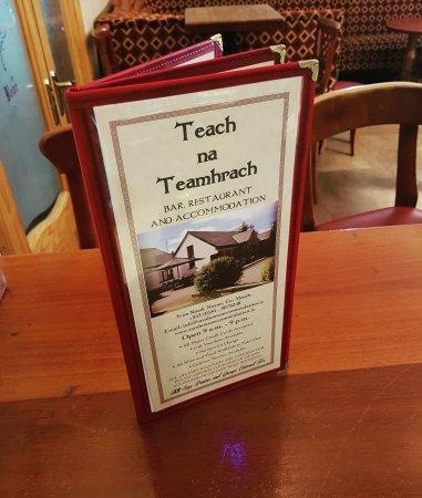 Navan, Irlanda: A la Cart menu