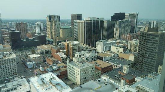 Hyatt Regency Denver At Colorado Convention Center: View from 35th Floor