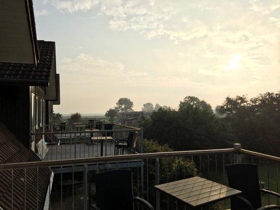 Havneby, Danmark: Blick von meinem Balkon
