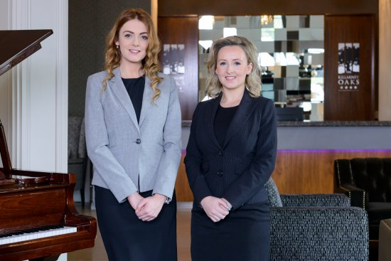 Killarney Oaks Hotel: Wedding coordinators Eilís and Danielle