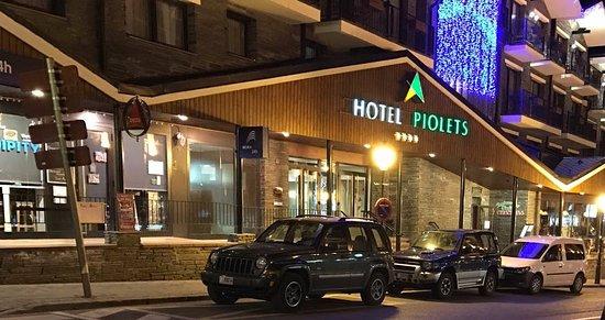 Hotel Piolets Soldeu Centre: Hotel
