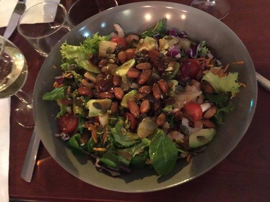 The Little Cafe: salade de crevettes