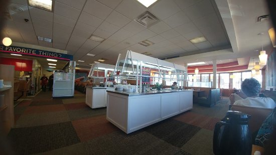 Harrison, OH: inside view buffet