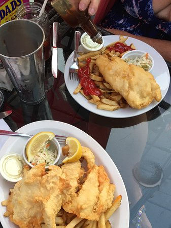 Minden, Канада: Yummy Fish and Chips !
