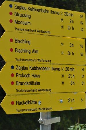 Werfenweng, Österreich: Wohin geht´s?