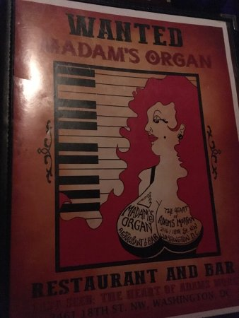 Madam's Organ Photo