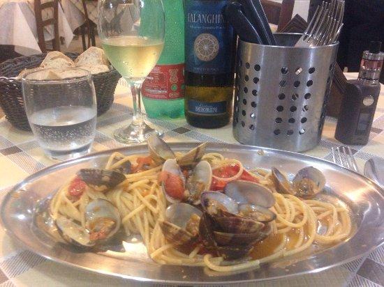 Spaghetti Vongole Picture Of A 39 Cucina Ra Casa Mia