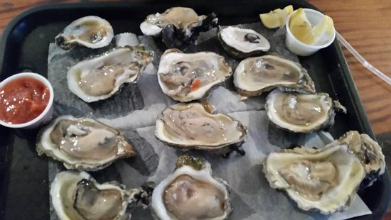 Wildwood, FL: Delicious plump oysters