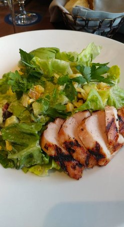 My grilled chicken salad with avocado baby gem lettuce corn and les sablons my grilled chicken salad with avocado baby gem lettuce corn and forumfinder Choice Image