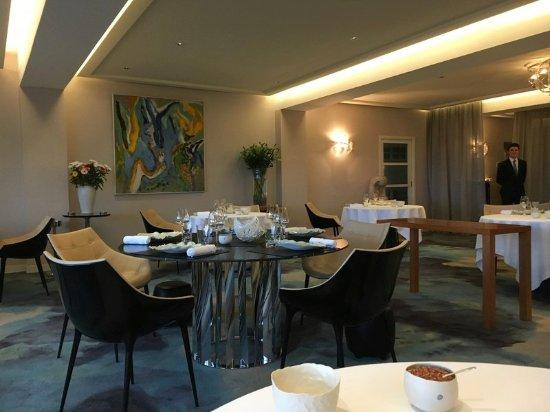 L'Auberge des Glazicks : elegant gediegenes Restaurant
