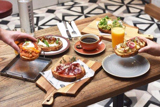 Tapas Brindisa Soho Breakfast 8-11am