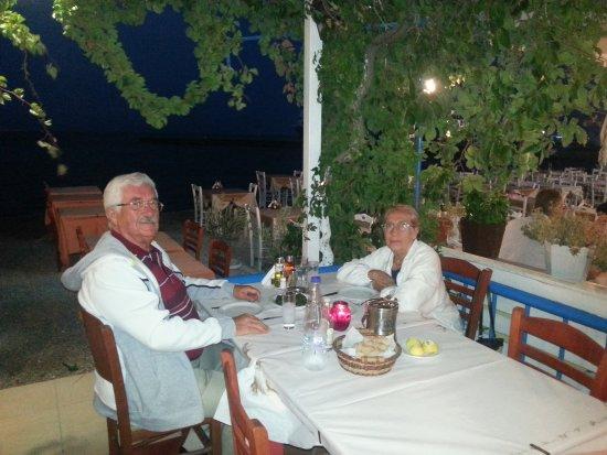 Caravelle restoranda eşimle birlikte akşam yemeği