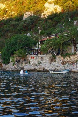 Solta Island, Croatia: пирс для лодкий маленький