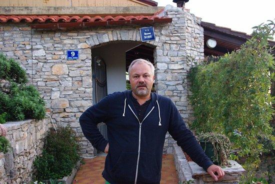 Solta Island, Croatia: вход в ресторан