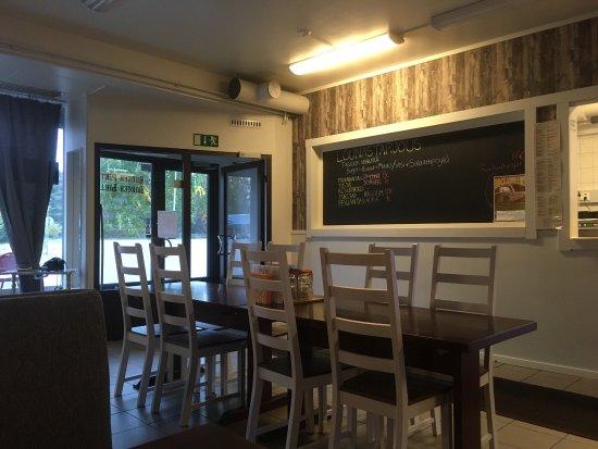 Haukipudas, Finlandia: Lasten juustoateria ja aura, mukava miljöö