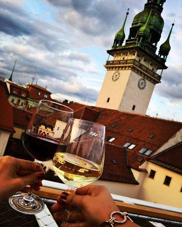 Brno, Czech Republic: wine with a view