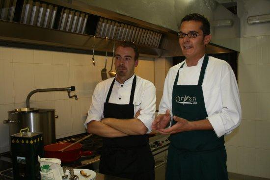 Desana, Italia: chef