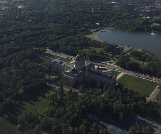 Wascana Centre Park: From the air!