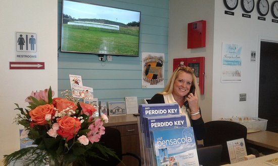 Cayo Perdido, FL: Our friendly tourism Ambassadors are happy to give you up-to-date information on the area!