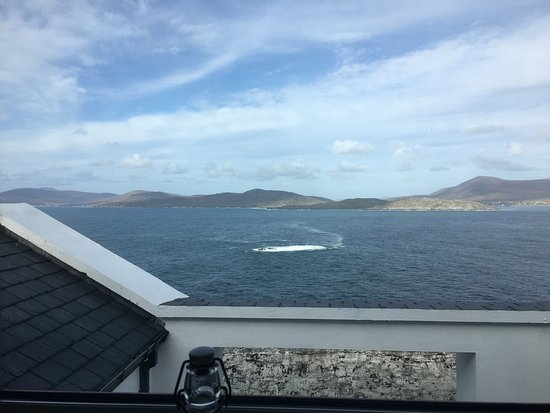 Clare Island Lighthouse: Two gorgeous windows overlooking Achill