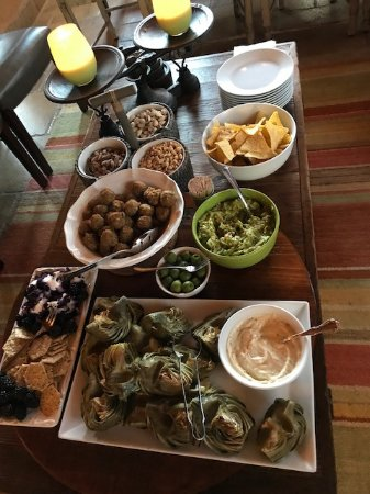 Afternoon hors d'oeuvres
