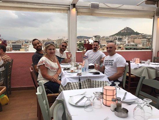 Elaia Restaurant : rooftop