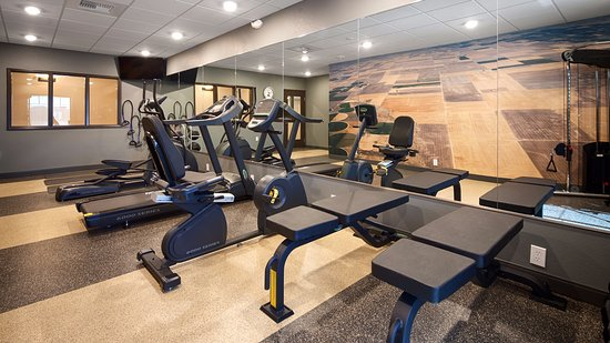 Fort Morgan, CO: Our Fitness Center is the perfect way to start or end your day....with a sweat.