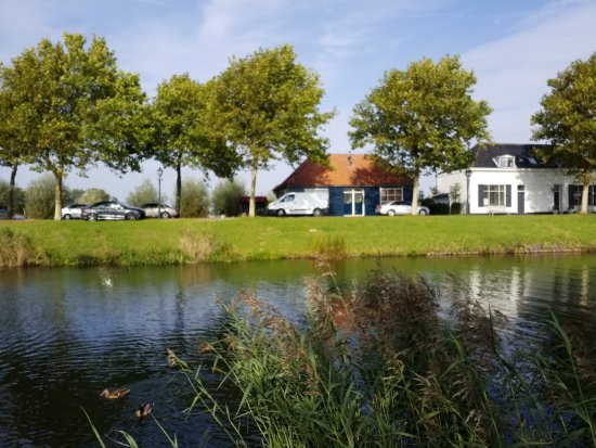 Brielle, The Netherlands: view from a walk around the site