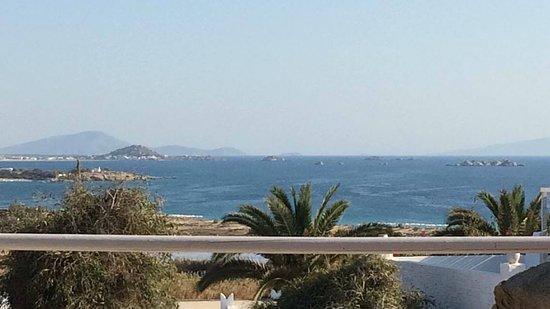 Agios Prokopios, Grekland: Vista dalla piscina