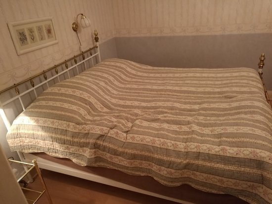 Hotell Ornskold: 160 cm narrow double bed