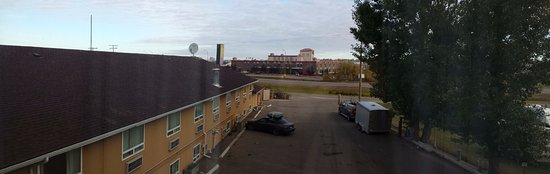 North Battleford, Kanada: view from our 4th floor window