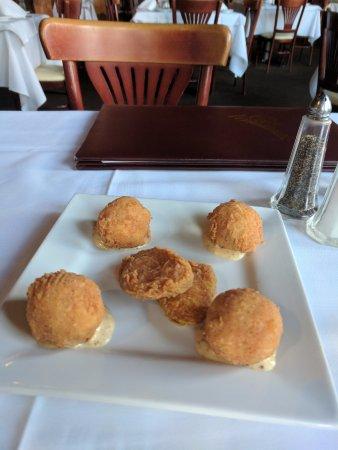 Cafe' Vermilionville: Crawfish Beignets