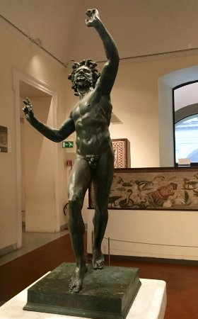 Roman God in bronze