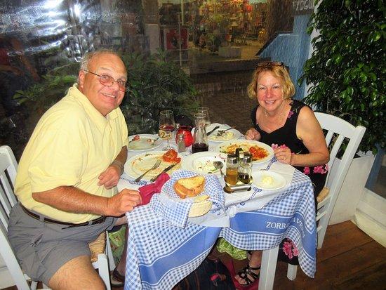 Zorbas Taverna: dinner
