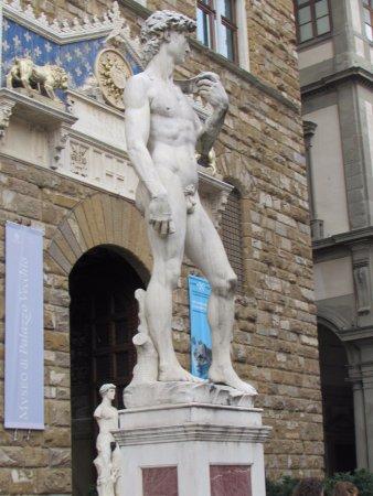 Piazza della signoria david