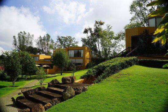 """Hotel Spa Casa en el Campo: In der Mitte des Bildes, oberes Stockwerk: Zimmer """"Manzanas"""""""