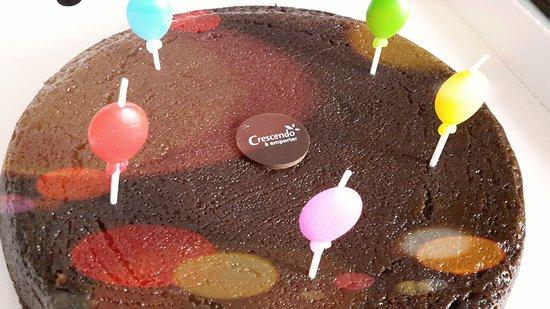 Saint-Pierre-d'Oléron, France : Fondant au chocolat à emporter pour les 2 ans de ma bébé,un régal!