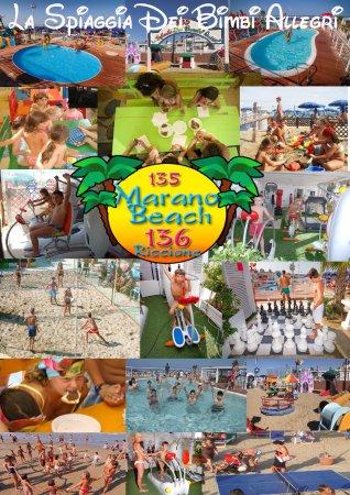Marano Beach 135-136 : La spiaggia dei bimbi allegri a Riccione