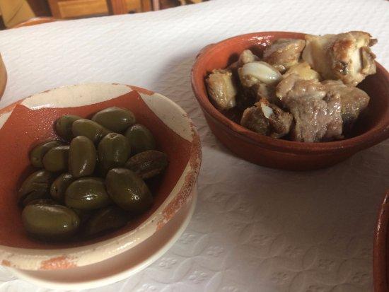 Restaurante Migas : Azeitonas