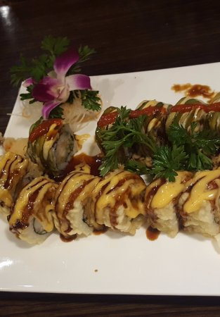 Ypsilanti, MI: Mexican, and Volcano rolls - Spicy Yummies!