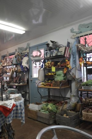 Tylerton, MD: Vegetables and books etc..