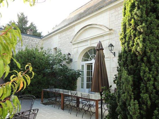 Ligre, Francia: Innenhof